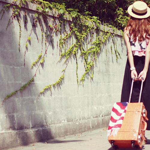 旅する女の子